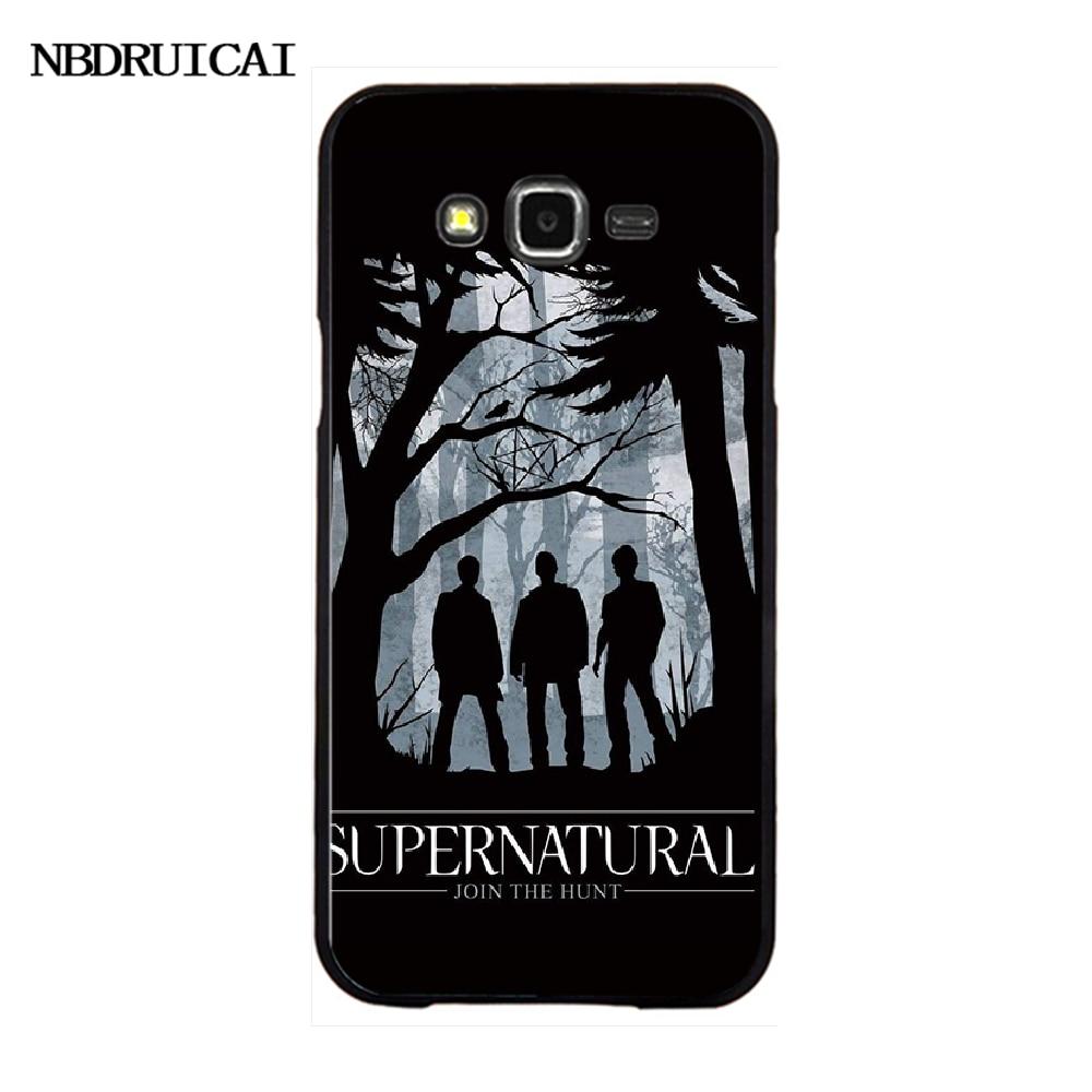 NBDRUICAI TV play Supernatural Coque Shell Phone Case For Samsung Galaxy J7 J8 J3 J4 J5 J6 Plus 2018 Prime