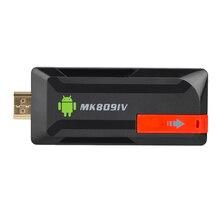 2019 MK809 Iv の Android 7.1 テレビドングル RK3229 クアッドコア 2 ギガバイト/16 ギガバイト 1 ギガバイト/8 ギガバイト UHD 4 18K HD 3D ミニ PC H.265 無線 Lan Dlna スマートメディアプレーヤー