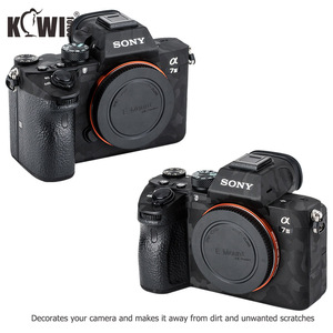 Image 3 - Anti Scratch Camera Body Skin Sticker Cover Protector Film Kit for Sony A7III A7RIII A7 III A7R III A7M3 A7RM3 A7R3 Shadow Black