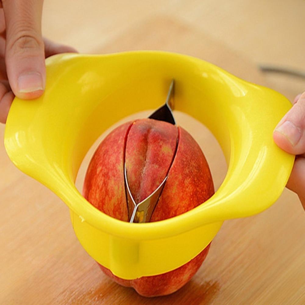 Горячая нержавеющая сталь яблоки груша слайсер Фрукты резак бурер Wedger разделитель кухонный инструмент