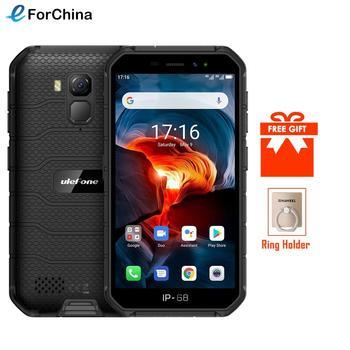 Купить Ulefone Armor X7 Pro NFC Android 10 IP69K противоударные мобильные телефоны 4 ГБ 32 ГБ GPS мобильный телефон 4000 мАч прочный смартфон 2,4G/5G WLAN