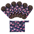 Многоразовые прокладки Ohbabyka, гигиенические прокладки из бамбукового угля, менструальные хлопковые прокладки для мам, Моющиеся Прокладки д...