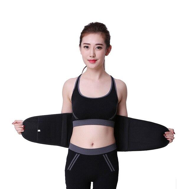 Waist Trainer Belt Support for Women & Man Waist Cincher Trimmer Weight Loss Ab Belt Slimming Body Shaper Sweat Belt
