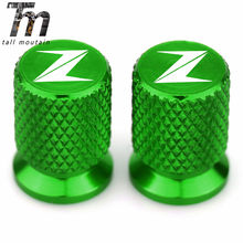Z900 for Kawasaki Z900 2017 2018 2019 2020 Motorcycle Tyre Valve Cover Tire Air Port Stem Cap Plug CNC Aluminum Accessories(China)