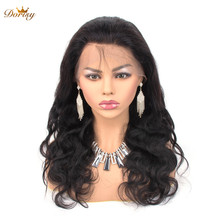 360 Lace Frontal Wig Body Wave Human Hair Wigs Brazilian wig Pre Plucked With Baby Non Remy