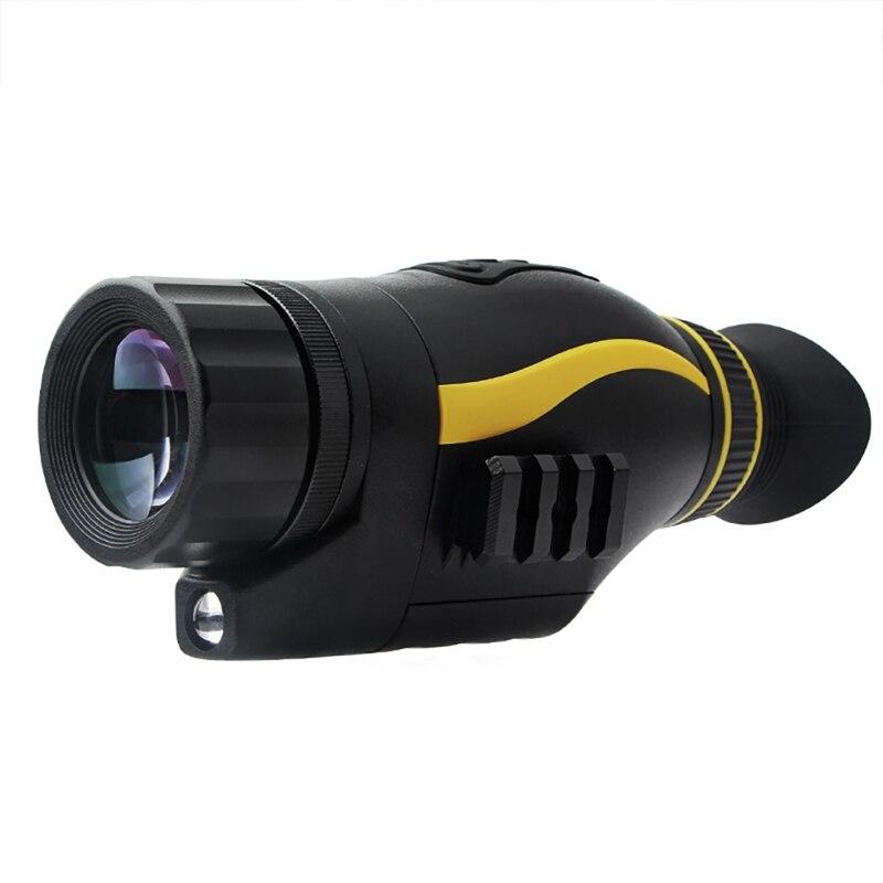 Tragbare 4X Digital Night Vision Monokulare Multifunktionale Handheld Teleskop Optische Gerät Militärische Taktische Monokulare
