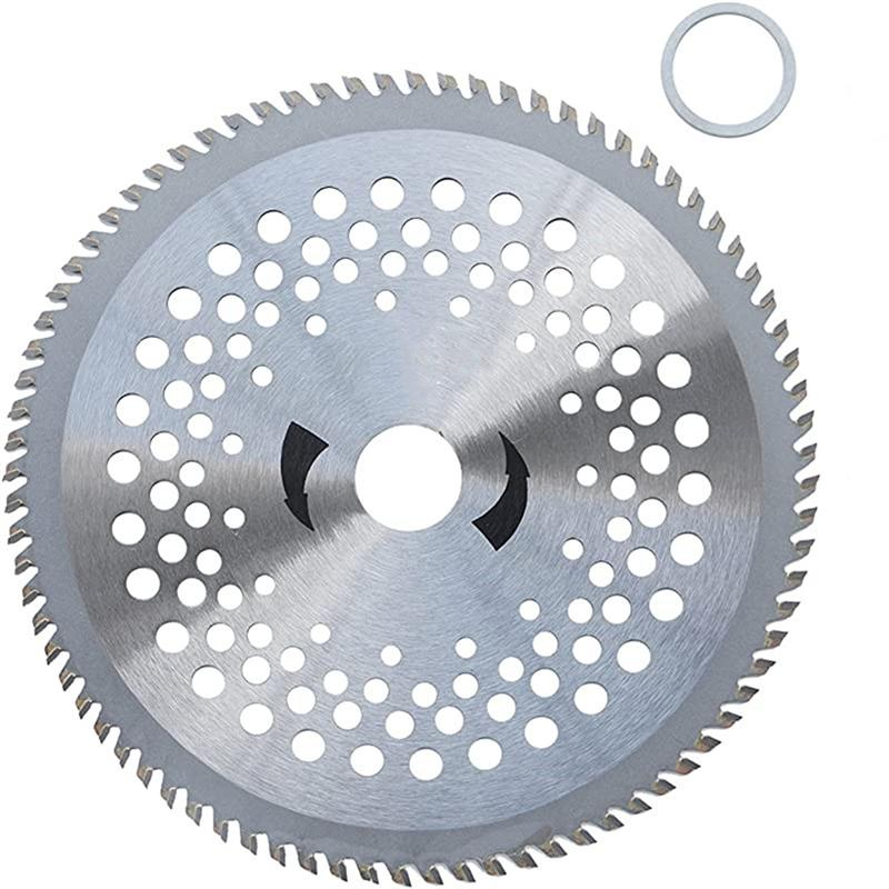 80 Teeth Garden Lawn Mower Trimmer Blade Circular Outer Diameter 255mm Inner Diameter 25.4mm Brush Cutter Saw Blade Wheel Discs