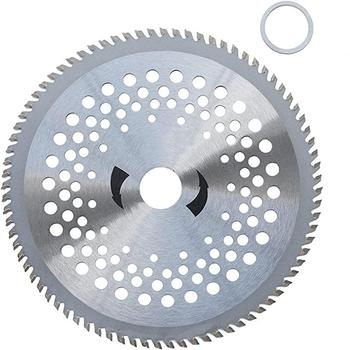 80 Teeth Garden Lawn Mower Trimmer Blade Circular Outer Diameter 255mm Inner 25.4mm Brush Cutter Saw Wheel Discs - discount item  26% OFF Garden Tools