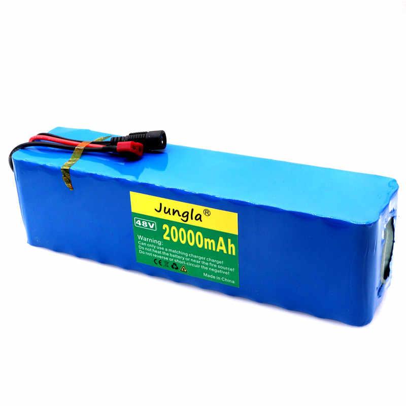 2020 Original haute capacité 48v batterie 48v 20Ah 1000w 13S3P Lithium batterie Pack 54.6v e-bike électrique vélo Scooter avec BMS
