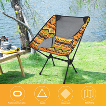 Camping-Chair Furniture-Accessories Folding Ultralight Portable Seat Hiking Picnic Outdoor