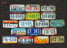 Eua carro de metal placa de licença do vintage decoração da casa sinal de estanho bar pub garagem decorativo sinal de metal pintura placa cartaz da parede da barra