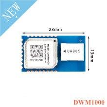 DWM1000 Módulo de posicionamiento UWB para interiores, banda Ultra ancha, sistema de posicionamiento de diferencia, bajo consumo de energía