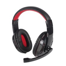 Gaming Headset Best casque 7.1 Surround Sound USB Wired Headphones with Microphone Volume Control for PS4/XBOX-ONE SY755MV(China)