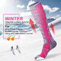 X-TIGER Frauen Winter Ski Socken Warme Thermische Verdicken Baumwolle Sport Snowboard Radfahren Laufen Skifahren Socken Thermosocks Bein Socken