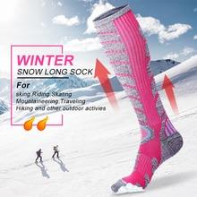 Ski-Socks Snowboard Cycling Running Sports Winter Women Warm Cotton X-TIGER Skiing Thicken
