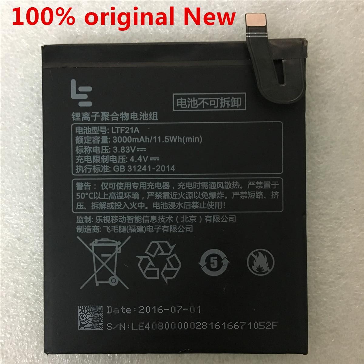100% D'origine LTF21A Batterie Pour Letv LeEco Le 2 (pro) le 2S au S3 X20 X626 X528 X621 X625 X25 X525 X620 X520 X522 X527 X526