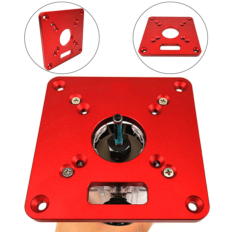 Aluminum Alloy Router Table Insert Card For Makita RT0700C Universal Replacement Trimmers Home Produtcs