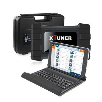 XTUNER T1 Heavy Duty Trucks Auto Intelligent Diagnostic Tool Support WIFI Read ECU Info, Read DTCs, Erase DTCs,ABS +WIN10 tablet