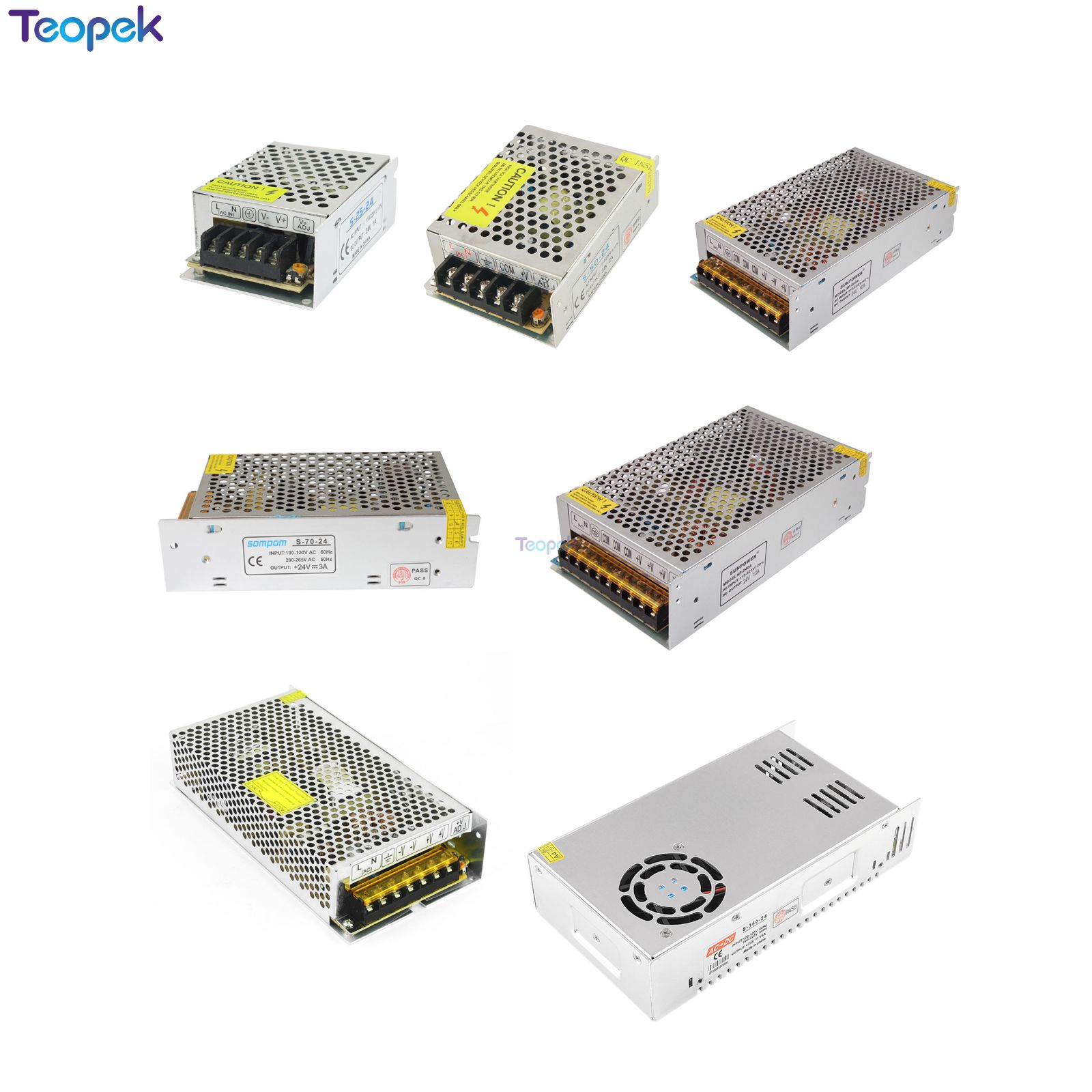 Swiching Power Supply <font><b>DC</b></font> 24V 1A <font><b>2A</b></font> 3A 5A 10A 15A 20A <font><b>24</b></font> <font><b>V</b></font> Volt Power Adapter LED Driver Lighting Transformers For LED Strip Lamp image