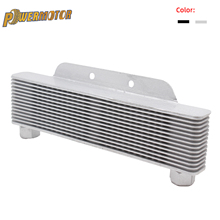 Universal Engine Transmission Oil Cooler 238mm 15-Row Motorcycle Auto Accessory Auto Engine Transmission Oil Cooler oliekoeler vr racing universal oil cooler kit 15 row 10an aluminium engine transmission oil cooler relocation kit vr5115b 6724br 3pcs