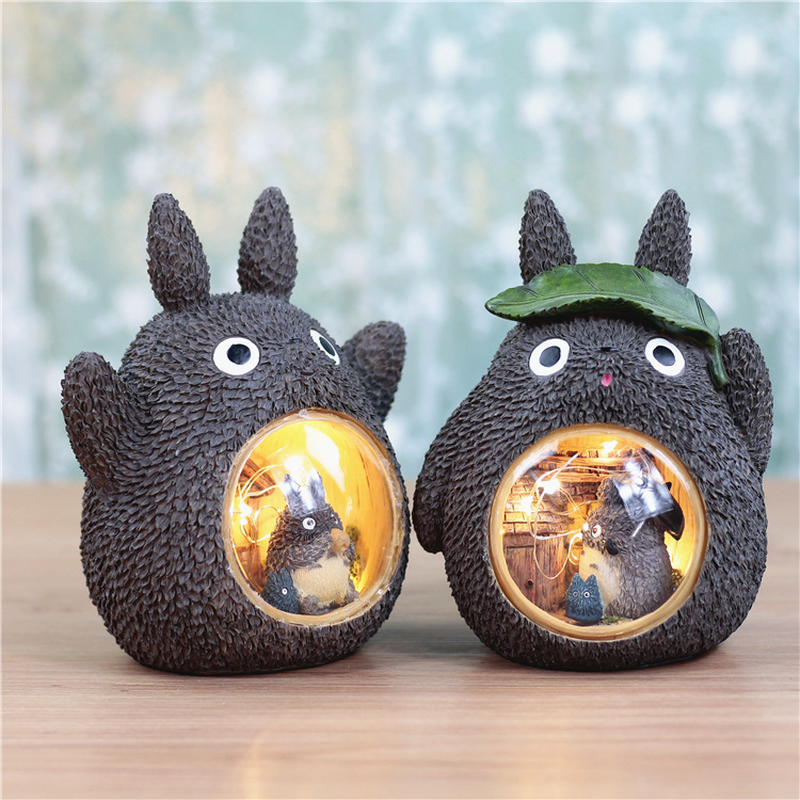 Children LED Night Light Cartoon Totoro Lamp Baby Bedside Night Light For Children Kid Birthday Gift Home Christmas Decoration