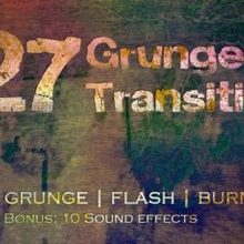 Grunge Transitions Pack of 27 HD - Videohive Download 22571683