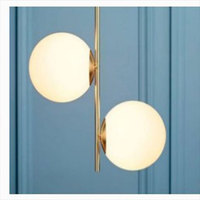 Modern Vintage Copper Iron Gold Pendant Lights Caferoom/bar Lamp Single Glass Pendant Lamps Decoration Indoor Lighting E27 S
