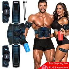 Stimulateur musculaire pour entraînement abdominal, aide à tonifier les muscles par électrostimulation, parfait pour la maison