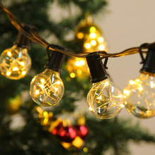 110V/220V 7.5M 25LED G40 Globe string lights outdoor lights vintage bulbs Copper Wire for Christmas holiday garden wedding party