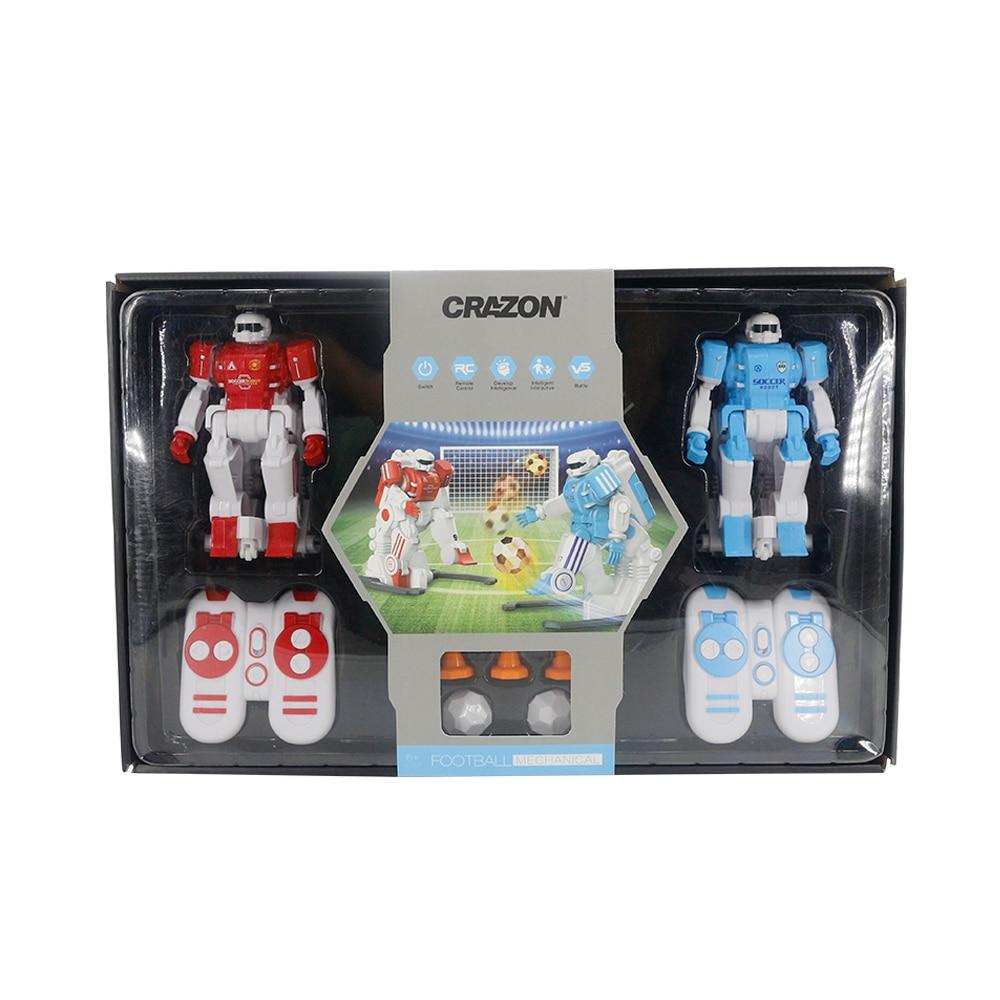 2.4g rc robô de futebol batalha inteligente robô de brinquedo para crianças robôs controle remoto & accessories1 - 2