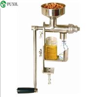 Manual oil press unit Peanut nut seed oil press / oil extraction machine