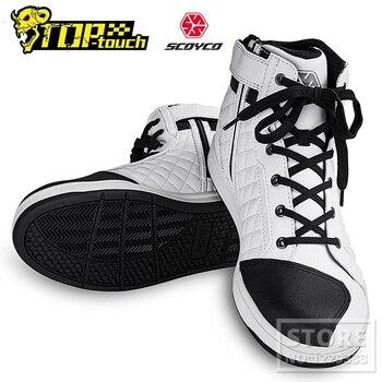 Мото обувь SCOYCO дышащие 1