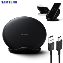 SAMSUNG Fast Wireless Charger PadสำหรับSamsung Galaxy S9Plus S10E S10 X Note9 Note8 หมายเหตุ 10 Plus S7edge s8 S9 +
