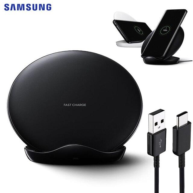 SAMSUNG Original Rápido Carregador de Carregamento Sem Fio Pad Para Samsung Galaxy S9Plus S10E S10 X Note9 Note8 Nota 10 Plus S7edge s8 S9 +