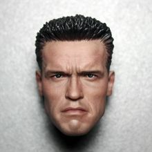 1/6 Arnold Schwarzenegger Male Head Sculpt Head Model Fit 12'' Action Figure Muscular Body Collecton Head Carving Toys 1 6 head sculpt the avengers 2 captain america steve rogers no neck head carving model for 12 action figure toys accessories