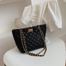 Single Shoulder Bag Lingge Women's Bag  Bag Women 2019 New Chain Bag Fashion Joker Casual  Single Shoulder Messenger Bag