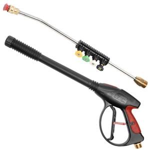 Image 2 - 4000PSI גבוהה לחץ קצף אקדח עם 42 אינץ חזק תרסיס אקדח עם מהיר חרירי חיבור ב 5 צבעים