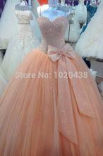 Роскошные бальные платья vestidos de 15 anos Фактическое изображение