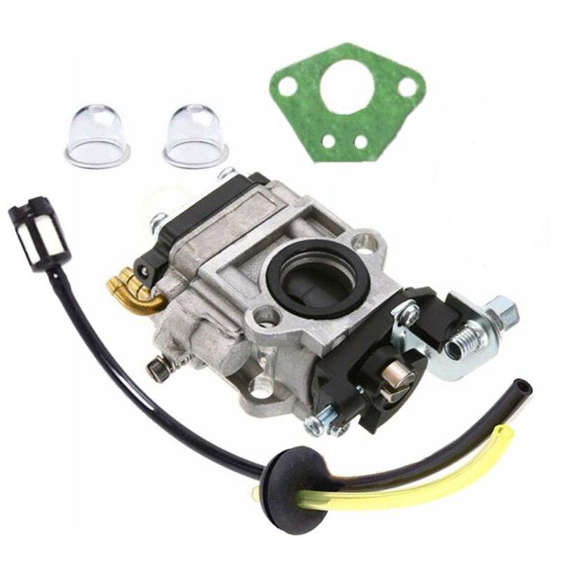 Universal 15mm Carburettor Set Fuel Line Filter Trimmer Hedge Brush Cutter
