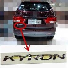 Emblema original del logotipo de la puerta trasera del maletero trasero para SSANGYONG KYRON tapa trasera del maletero insignia del logotipo 7991009101