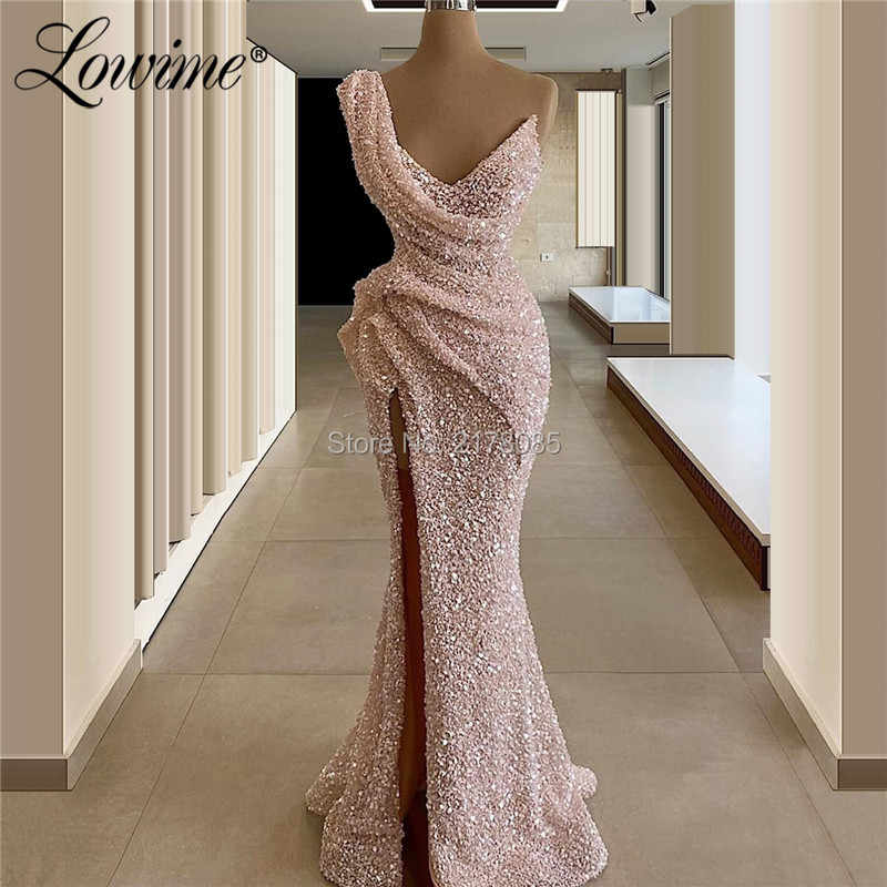 Rosa Vestidos Africanos Para Fiesta Dubai Lentejuelas Vestido Para Mujer En Tallas Grandes Mermaid Arabe Kaftan 2020 Oriente Medio Musulmanes Vestidos De Noche Vestidos De Noche Aliexpress