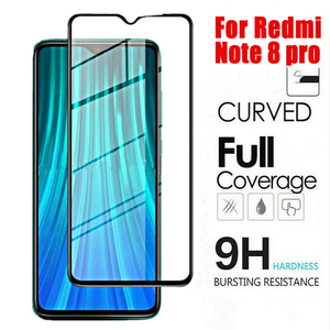 Image 1 - Tempered Glass For Xiaomi 9 Pro 5G Redmi Note 8 Pro Screen Protector Protective glass on Redmi note 8 glass