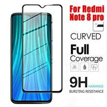Vidro temperado para xiaomi 9 pro 5g redmi nota 8 pro protetor de tela de vidro protetor de proteção em redmi nota 8 vidro