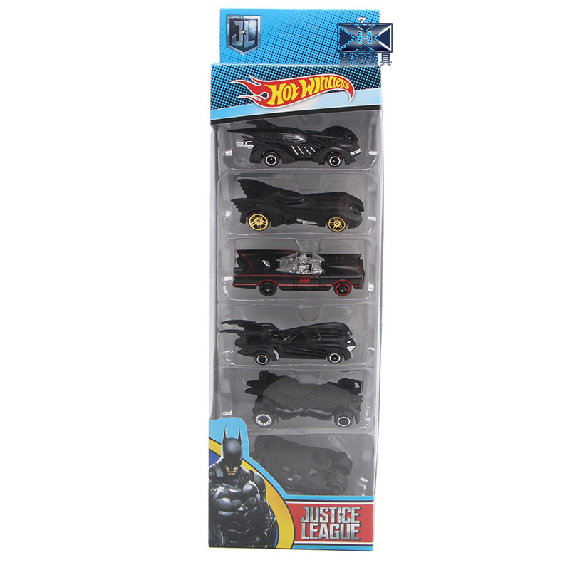 Batman Chariot Lichtmetalen Set Model 6 Generatie Chariot Combinatie Kinderen Auto Speelgoed Set