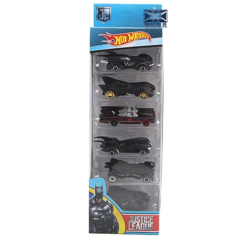 Batman Chariot Lichtmetalen Set Model 6 Generatie Chariot Combinatie Kinderen Auto Speelgoed Set