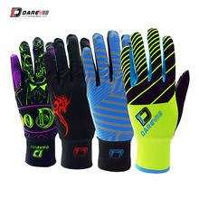 Darevie длинные велосипедные перчатки с сенсорным экраном защитой