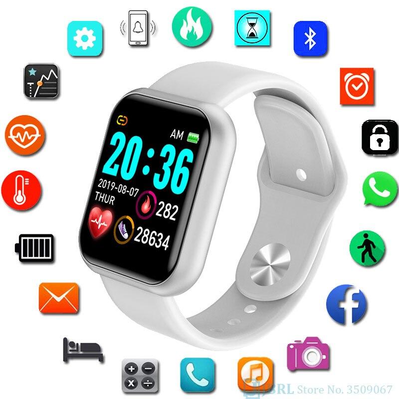 Fashion Digital Watch Children Kids Wrist Watch For Girls Boys Student Sport Clock Electronic LED Digital Child Wristwatch Hours