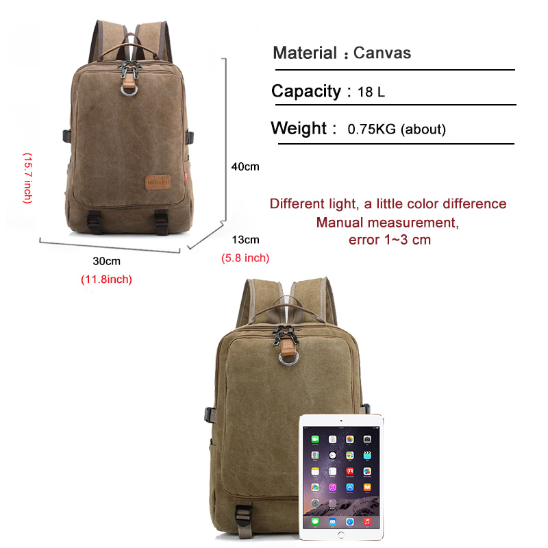 Casual Oxford Business Men's Laptop Backpack  4