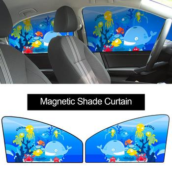 1 pc Car Window Front Window Shade Side Window Sunshade Baby Auto Windshield Sunshades Universal Fit For Driver UV Protection image