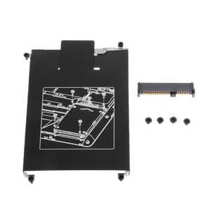 1 Set HDD Caddy Adapter Hard Drive Disk Interface Bracket SSD Cable Connector Laptop Accessory Screw for HP 820 G1 G2